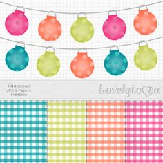 #Free clipart and paper set from Lovelytocu