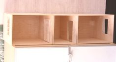 Make a Simple Dolls House Roombox from Baltic Birch Plywood: Plan The Design and Measurements for A Dolls House Roombox