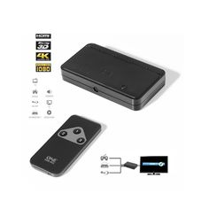 Buy One For All SV1630, 3 X HDMI Switcher   Soundstore Ireland Cable Vga, Cable Ethernet, Cable Audio, Apple Tv, Mp3 Player, Stuff To Buy, Switch, Html