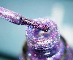 glitter nailpolish ♥