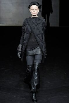 Visions of the Future // Rick Owens Fall 2009 Ready-to-Wear Fashion Show - Hanne Gaby Odiele (IMG)
