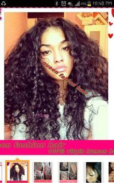 Crochet Braids Roller Set : ... hair on Pinterest Crochet braids, Roller set and Bantu knot out