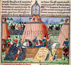 texts on jousting | St Inglevert jousting tournament, 1390