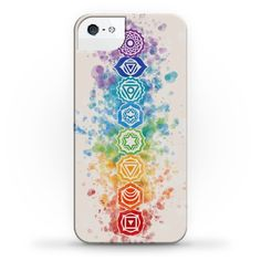 The chakras are an important element in mindfulness, meditation, toga, tantric beliefs, and religious beliefs, and govern feelings of well-being, empathy, creativity, and love! If you're a creative type, athletic, or love to do yoga or meditate, this pretty watercolor chakra phonecase is probably right up your alley!