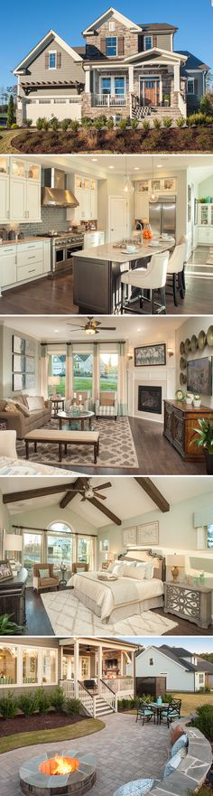 The Bentridge in the community of Montclair located in Chapel Hill, NC. See the floor plan and learn more about this beautiful community!