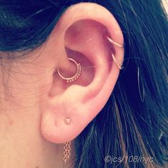 If I get a daith piercing, this is the jewellery I want