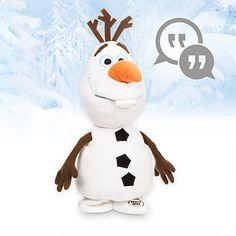 Disney Animators' Collection Interactive Olaf Plush - 10''