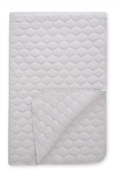 Silver Quilted Throw Studio Collection By Next