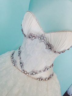 Lace and Satin NY wedding gown. Custom made.