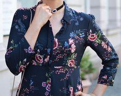 Kationette, Fashionblog, Outfit, Zara, Maxi dress, floral, choker, furla, metropolis, streetstyle, ootd, lotd, details