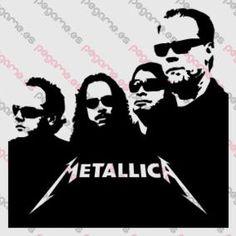 Metallica, Glasses, Heavy, Band, Group- Vinyl Sticker Decal - PEGAME.ES
