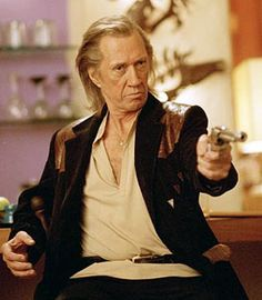 Bill from Kill Bill. I love him cause he looks and acts exactly like my dad, down to the hair and manner of speaking.