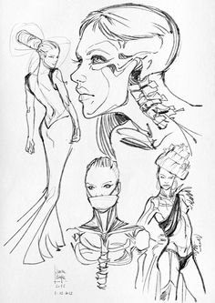 Here are some anatomical studies  (bones and muscles)   and sketches.                               You can see all anatomical studies on m...