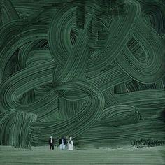 """Forest"", Wilhelm Sasnal"