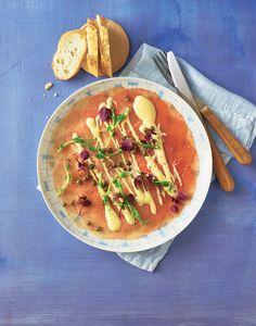 Eine köstliche Vorspeise, die euere Gäste begeistern wird: Das Carpaccio wird mit ...