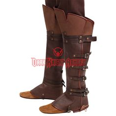 Assassin's Creed II Ezio Boot Toppers - 883028 from Dark Knight Armoury