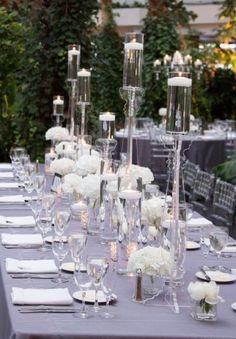 Featured Photographer: Miller + Miller Photography; Wedding reception idea.