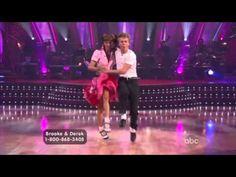 The Jitterbug: Brooke Burke & Derek Hough dancing the Jitterbug