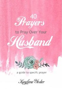 This ebook holds 40 powerful prayers to pray over your husband and your…