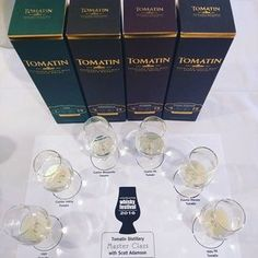 Scott's just about start his Cuatro Master Class at Victoria Whisky Festival #whisky #scotch #victoriawhiskyfestival #tomatin
