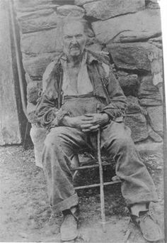 The Man Who Lived In Three Centuries- Uncle Fed Messer, 1792-1907, White Oak Community- Haywood County, NC...WOW...tough mtn stock!