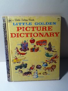 Little Golden Picture Dictionary by VintagePaperBits, $5.99
