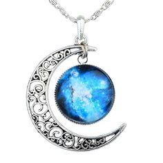 Universe In A Necklace Women Fashion Charm Chain Pendant Xmas Gift CE