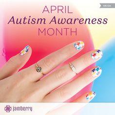 April is Autism Awareness month  Amybalicki.jamberry.com