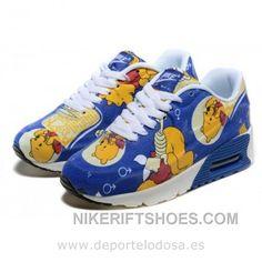 half off 0953d 95fd9 Nike Air Max 90 Kids Zapatillas Azul Amarillo 1005 (Nike Air Max 90  Comprar) Cheap To Buy E4Txh, Price   64.00 - Nike Rift Shoes
