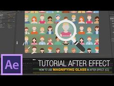 After Effects Tutorial - How to Use Magnifying Glass in After Effect (CC) - YouTube