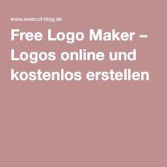Free Logo Maker – Logos online und kostenlos erstellen  