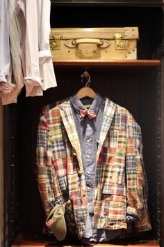 Madras, an Oxford and a bow tie.