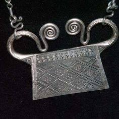 silver soul lock from the Hmong of Laos