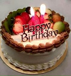 Happy Birthday Cheers Me Greetings Cake