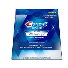 Crest White Luxe Professional Effects Whitestrips Dental Whitening Kit. It comes with Advanced Seal Technology's no slip grip stays put so you can talk and drink water while whitening teeth Home Teeth Whitening Kit, Teeth Whitening Remedies, Natural Teeth Whitening, Crest Whitening, Skin Whitening, Blend A Med, Deodorant, Crest 3d White, Dental Teeth