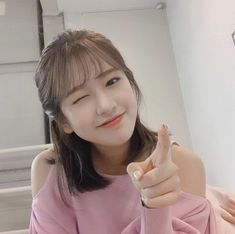 Image may contain: 1 person, closeup and indoor Kpop Girl Groups, Korean Girl Groups, Kpop Girls, My Girl, Cool Girl, Choi Yoojung, Pre Debut, Shared Folder, Japanese Girl Group