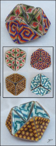 4 Seasons Kaleidocycle by Ellygator on DeviantArt Flextangle Template, Paper Toys, Bead Weaving, Beaded Embroidery, Beading Patterns, Coloring Pages, Art Projects, Arts And Crafts, Peyote Patterns