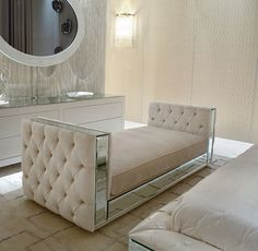 A spectacular range of luxury designer furniture. Italian designer furniture and handmade lighting design. Furniture Styles, Home Furniture, Furniture Design, Mirrored Furniture, Master Bedroom Design, Home Decor Bedroom, Sofa Design, Interior Design, Luxurious Bedrooms