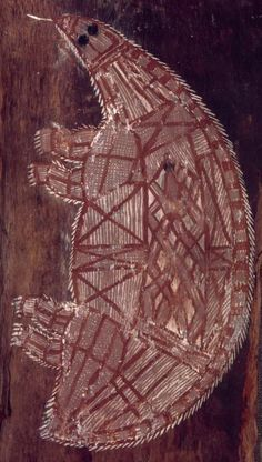 This bark painting collected 1912 is one of the oldest bark paintings. The bird is probably a brolga. Artist is unknown art painting art art artist art animals art for kids art lesson art lesson Aboriginal Art Animals, Aboriginal Art For Kids, Aboriginal Painting, Indigenous Australian Art, Indigenous Art, Paleolithic Art, Cave Drawings, Aboriginal Culture, Art Story