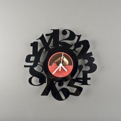 Brilliant use of vinyl records.