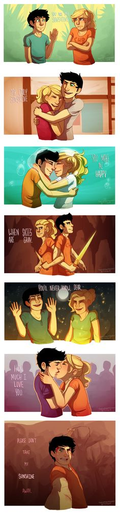 You Are My Sunshine by 1000th on deviantART --- THE ENDING THO!!! HOW DARE THOU!
