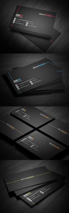 Creative business card design ideas for corporate #BusinessCard #Design