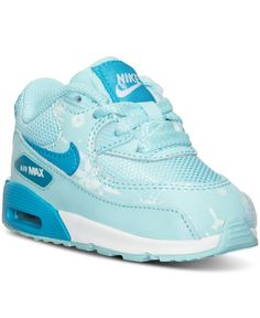c0383a5a5cf12 Nike Toddler Girls  Air Max 90 Premium Mesh Running Sneakers from Finish  Line Kids - Finish Line Athletic Shoes - Macy s