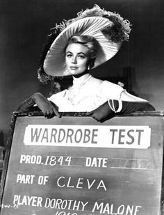 Dorothy Malone, Best Supporting Actress Oscar 1956
