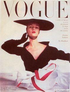 Jean Patchett Vogue Magazine Cover November 15, 1949