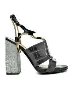 Lanvin Chuncky Sandal RTW Fall 2014 #Shoes #Heels