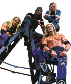 Jeff Hardy, Matt Hardy, Edge & Christian