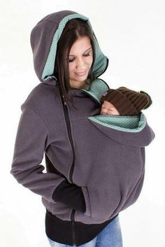 Baby Carrying Jacket, baby carrier coat, hoodie, mother and baby… Maternity Kangaroo baby pocket Hoodie with Babies Carrier Women front carrier Umstandskänguru-Babytasche Hoodie with Babies Carrier Women Front Carrier Artikelzustand: Neu Baby Carrier Jacket, Kangaroo Baby, Kangaroo Pouch, Baby Carrying, Mama Baby, Everything Baby, Baby Needs, Mother And Baby, Baby Time