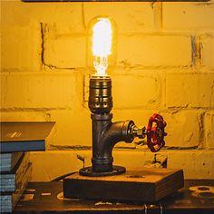 cru lampes de bureau industrielle lumière de nuit e27 ampoule edison 110-220V pour fête d'anniversaire de mariage décoration-fj-DT2N-039c0 de 4822541 2016 à €53.89