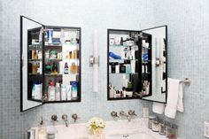 Ever wondered what supermodel Karlie Kloss keeps in her #bathroom cabinet? Click to find out!